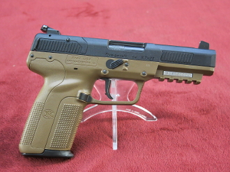 "FNH Five Seven FDE MKII LE/MIL ONLY 5.7x28mm 4.75"" 3868929351"